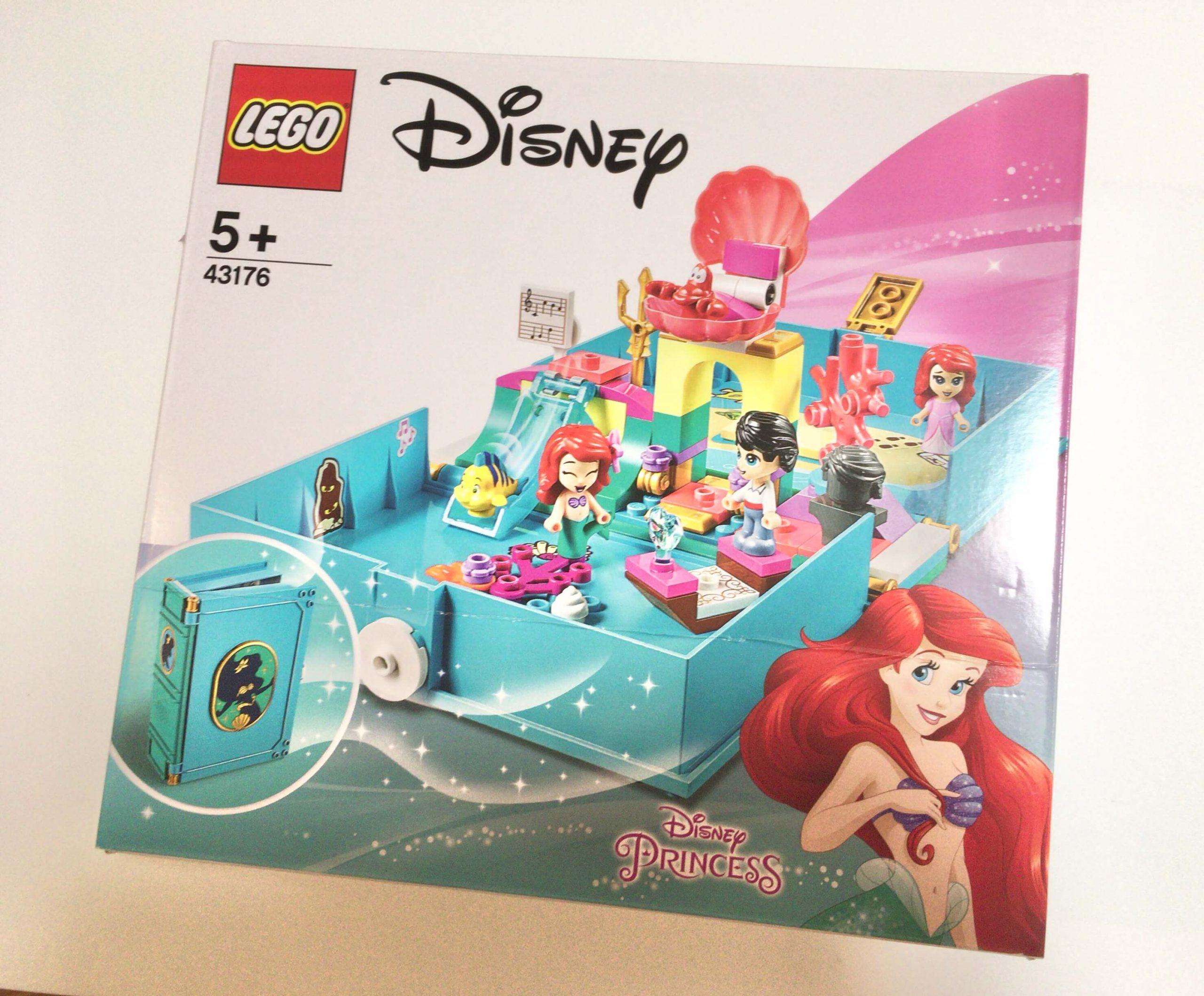 レゴ ディズニープリンセス アリエルのプリンセスブック 43176 買ってみたメリットとデメリット